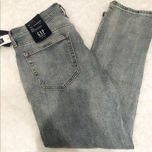 GAP best girlfriend mid rise jeans NWT